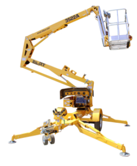 3522A Trailer Mounted Boom Lift