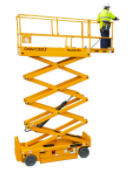 Compact 2032E Electric Scissor Lift