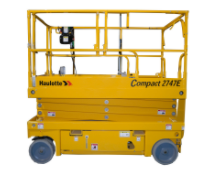 Compact 2747E Electric Scissor Lift