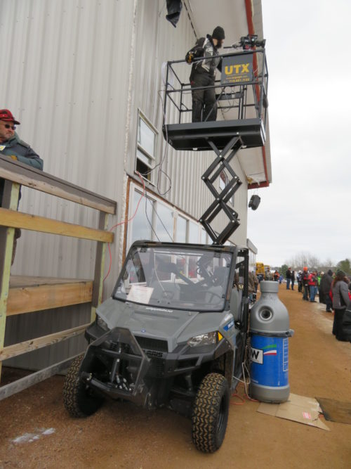 UTX 30 Utility Vehicle Scissor Lift