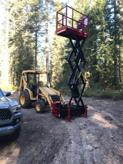 1530S Skid Man Lift 21' Working Height
